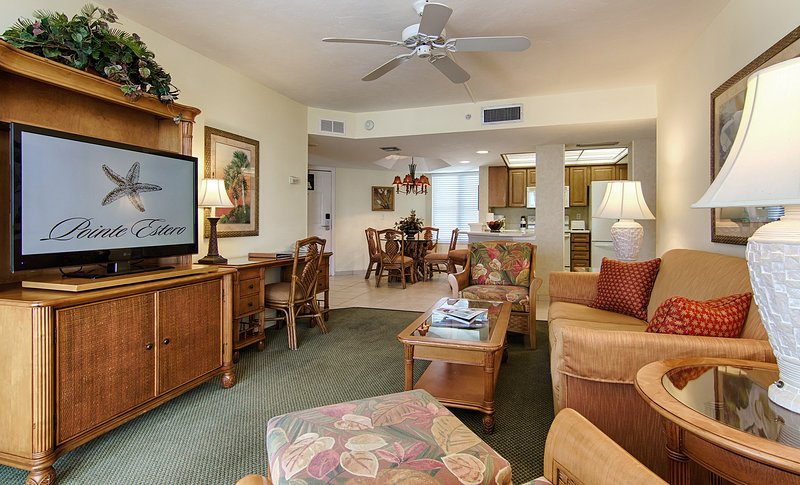 Sit back and relax in our bright and elegant suite!