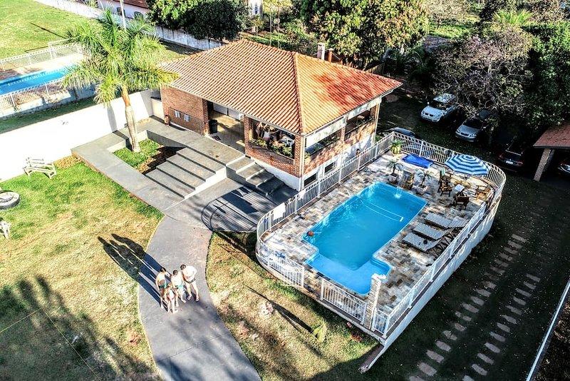 Chácara dos Lopes, aluguéis de temporada em Brotas