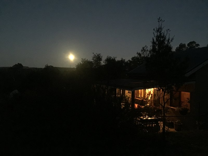 Moonrise over Stanley Goose Cottage