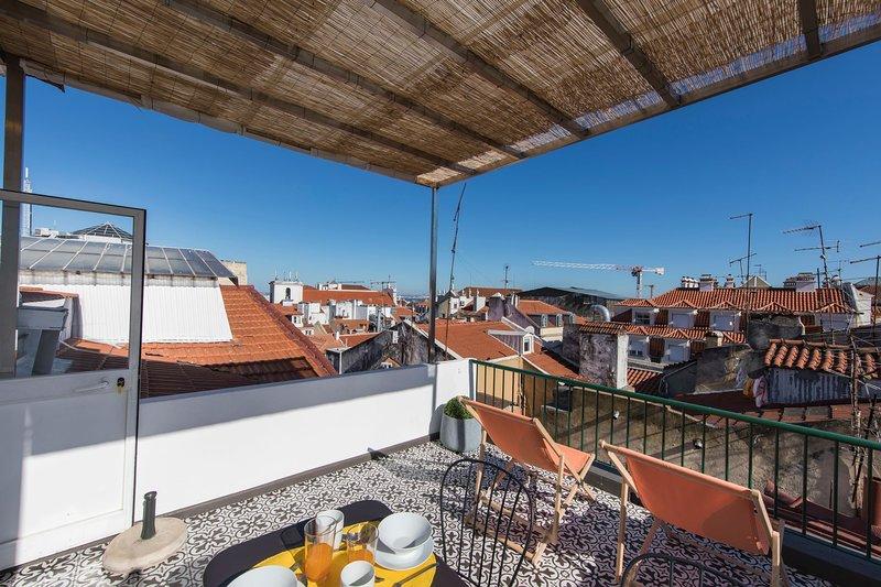 Takterrass och utsikt #rooftop #terrace