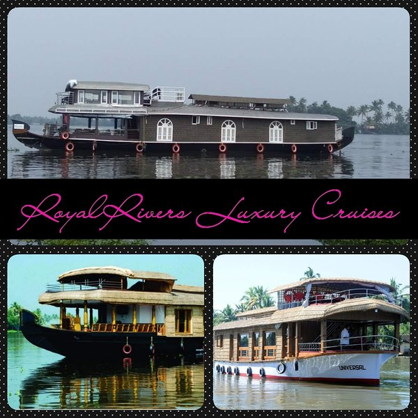 Royal River Cruise Houseboat, holiday rental in Alappuzha