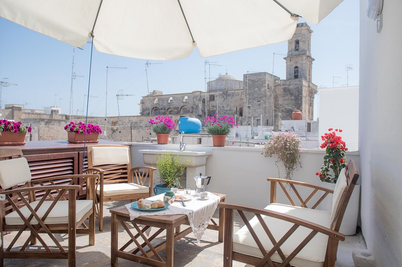 Apulia La Finestra sul mare apartment, holiday rental in Monopoli