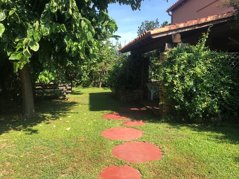 Trilocale Li Piri, holiday rental in Straulas