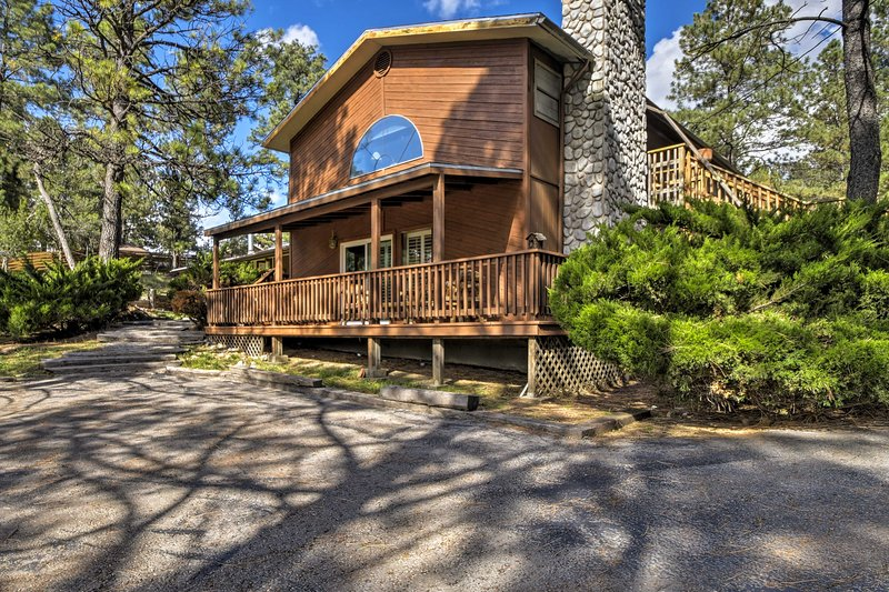 New Ruidoso Cabin W Pool Table Deck Near Skiing Updated