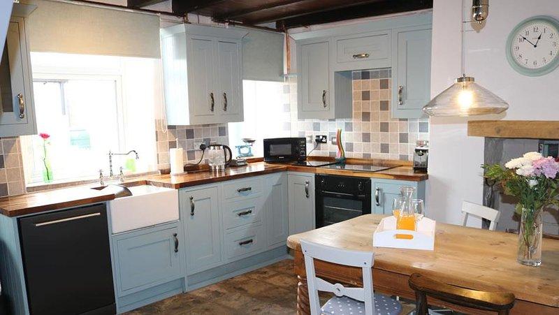 Cottage cuisine diner peut accueillir confortablement quatre