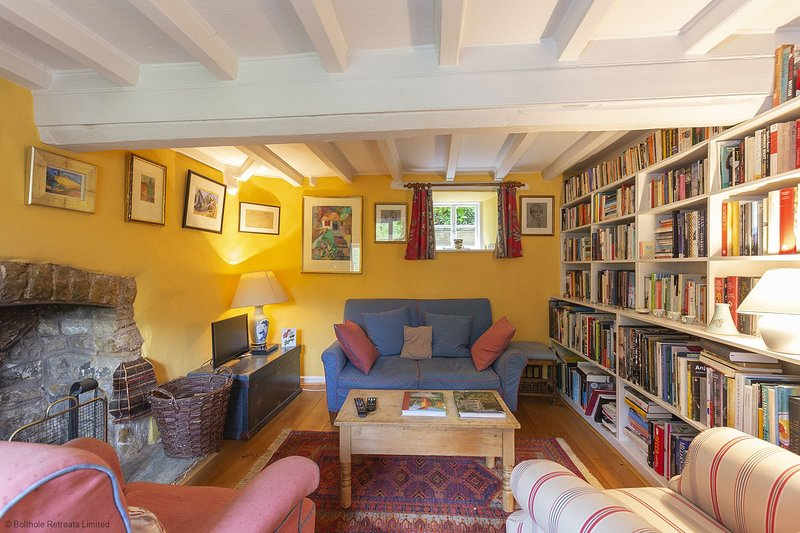 Hillside Cottage - 17th-century country cottage with period features and an open, casa vacanza a Great Tew