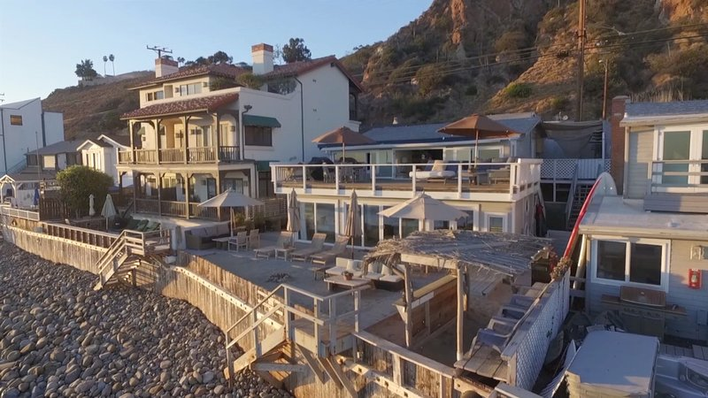Shabby Chic Malibu Beach House