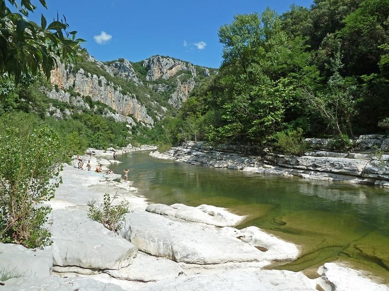 Gorges of Herault at 4 km