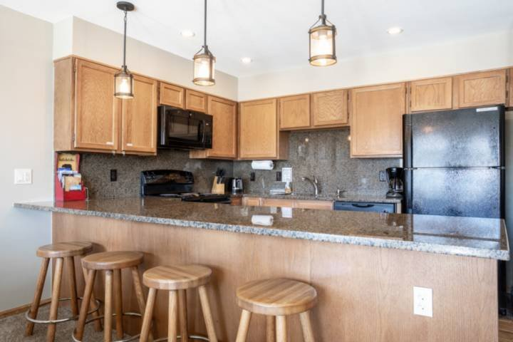 Lovely Roomy And Fully-Stocked Kitchen