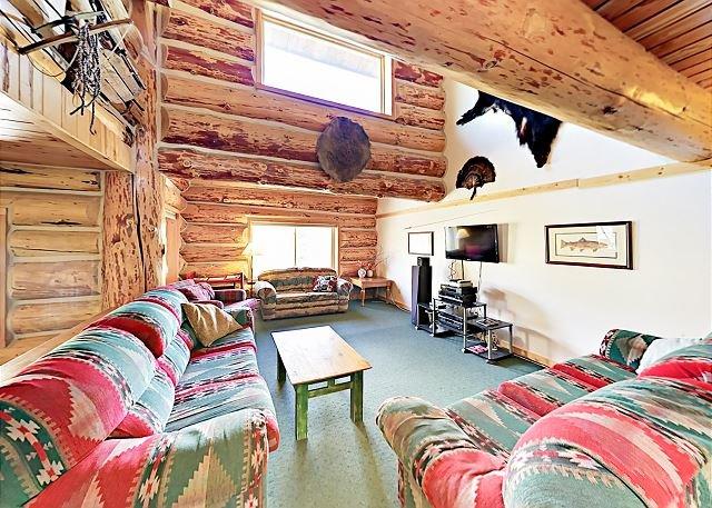 North Lodge: Living Area