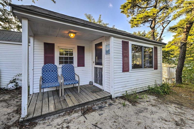 Giornate da spiaggia memorabili attendono in questa casa vacanza con 2 camere da letto e 1 bagno.