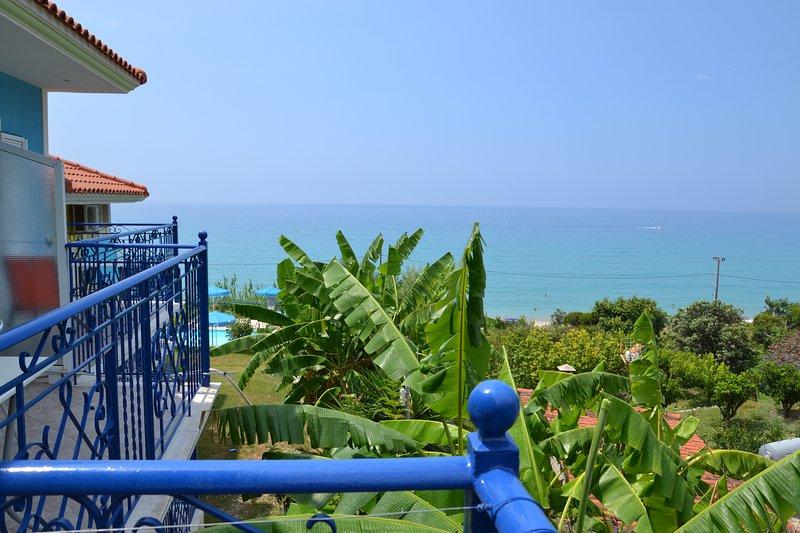 Enjoy amazing the view of amazing Ionian sea