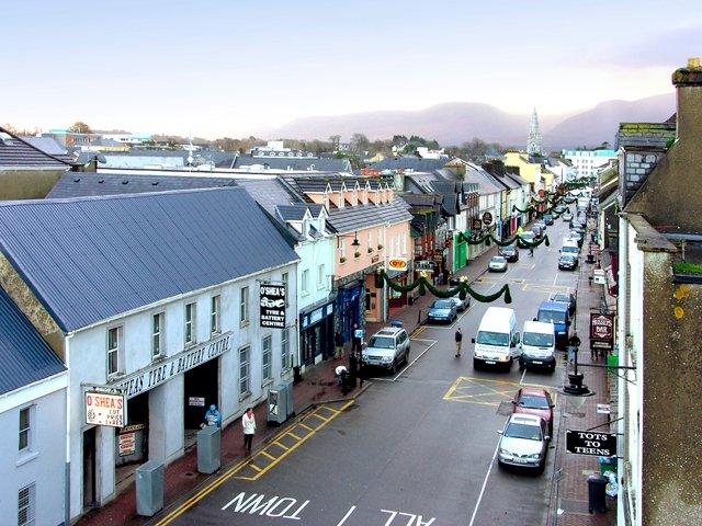 Killarney town.