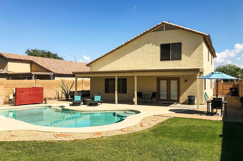 Haz las maletas para Arizona y reserva esta hermosa casa de vacaciones.