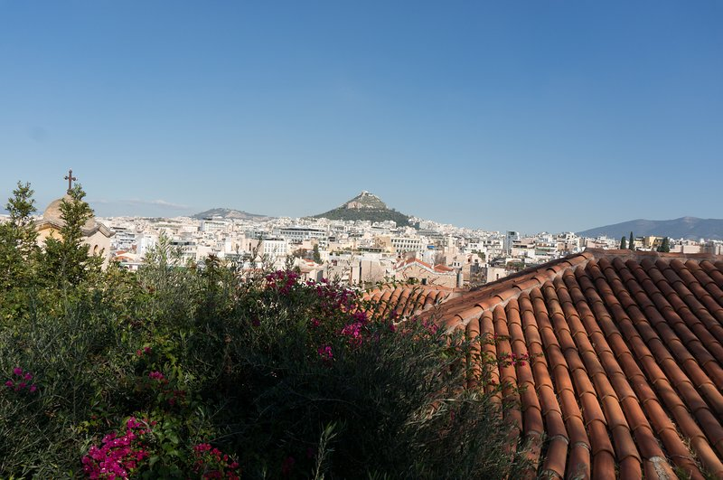 Enjoy the view of Athens