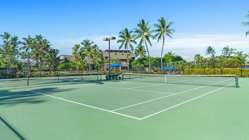 Kanaloa At Kona 406 - Kanaloa At Kona Tennis Court