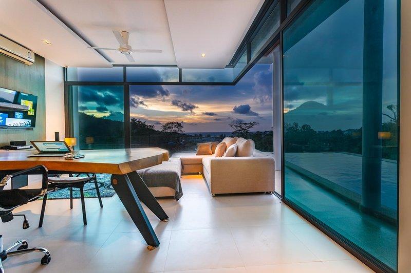 Paradesa - Seaview 3 bedroom private pool villa in Kamala, alquiler de vacaciones en Phuket