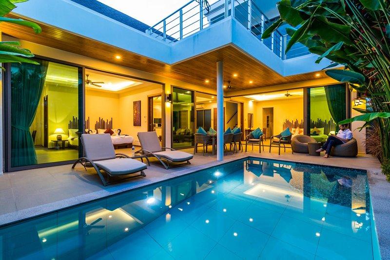 Ka Villa - Private pool villa near seafood market and beach, casa vacanza a Ko He