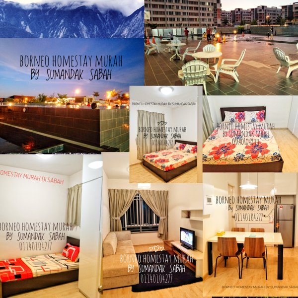 BORNEO HOMESTAY MURAH BY SUMANDAK SABAH, holiday rental in Kota Kinabalu District