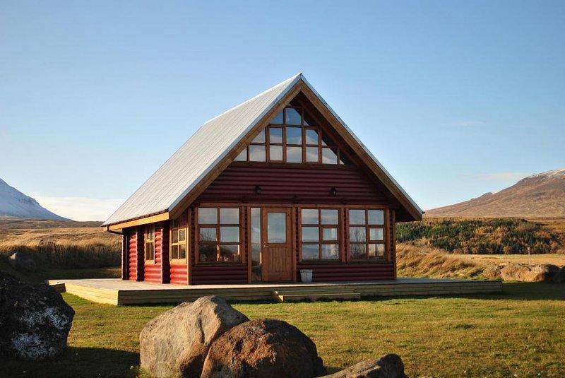 Log House - North Iceland, vacation rental in Saudarkrokur