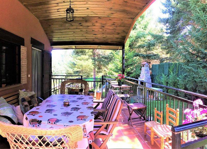 Casa Rural la Finca de Gredos, holiday rental in Pradosegar