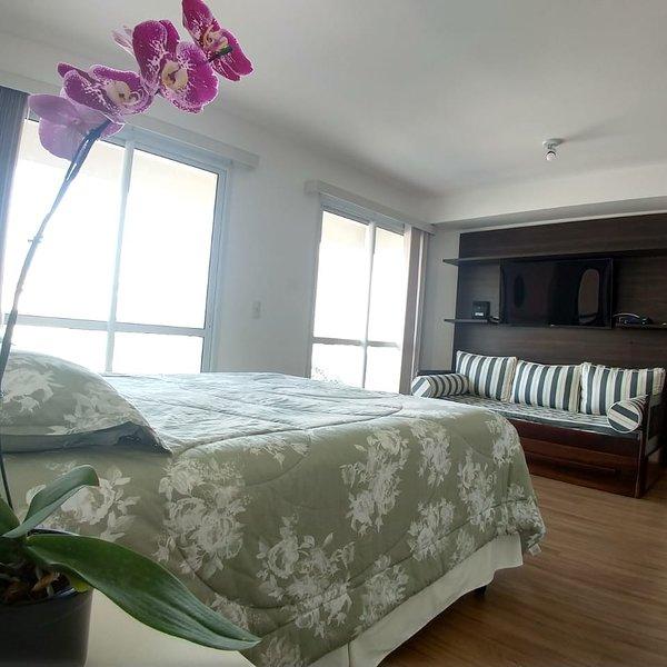 Studio Top na Mooca wifi e garagem condomínio com serviços, holiday rental in Sao Caetano do Sul