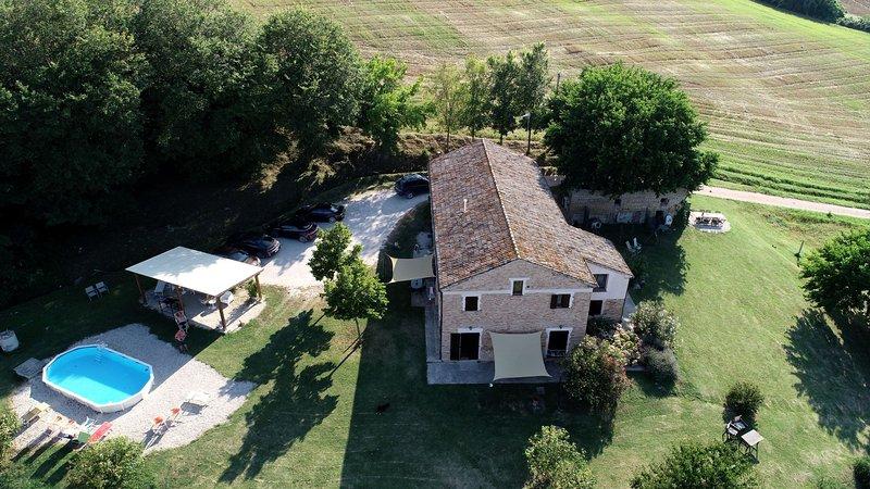 casa onda b&b appartments swimming pool near sea, vacation rental in Scapezzano