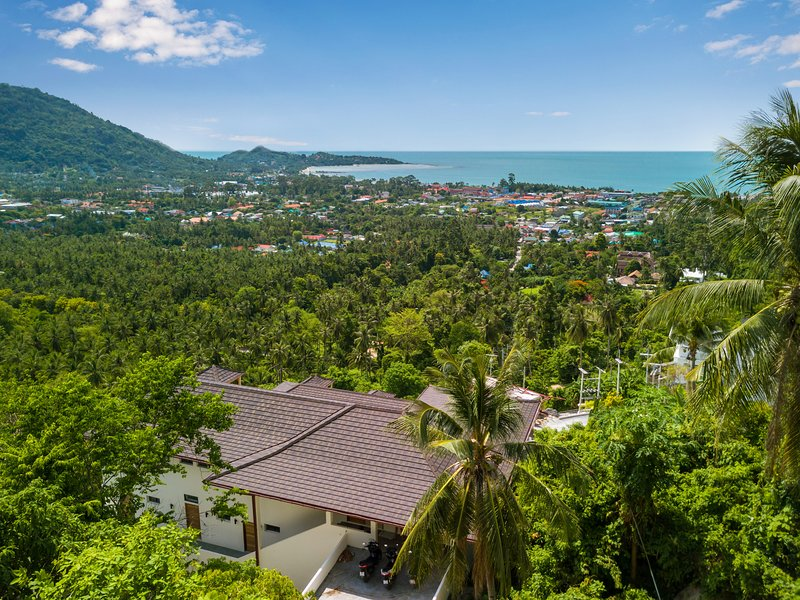 AMAZING SEA VIEW - LAMAI BAY VIEW STUDIO A - 1 BEDROOM, holiday rental in Maret