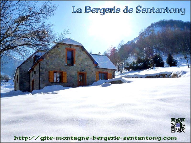Sentantony Sheepfold - Winter