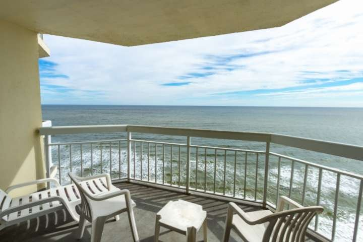Relax and enjoy morning coffee oceanfront