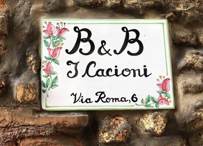 B&B I Cacioni, holiday rental in Ponzano Romano