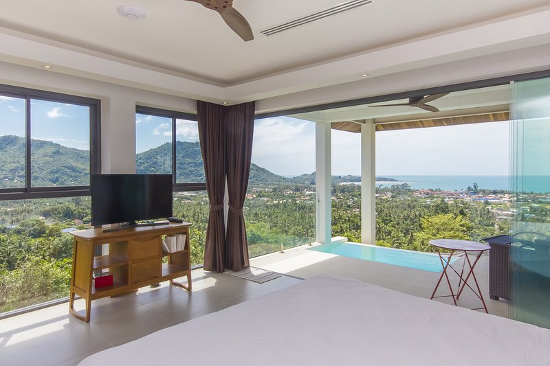 AMAZING SEA VIEW - LAMAI BAY VIEW STUDIO B - 1 BEDROOM, holiday rental in Maret