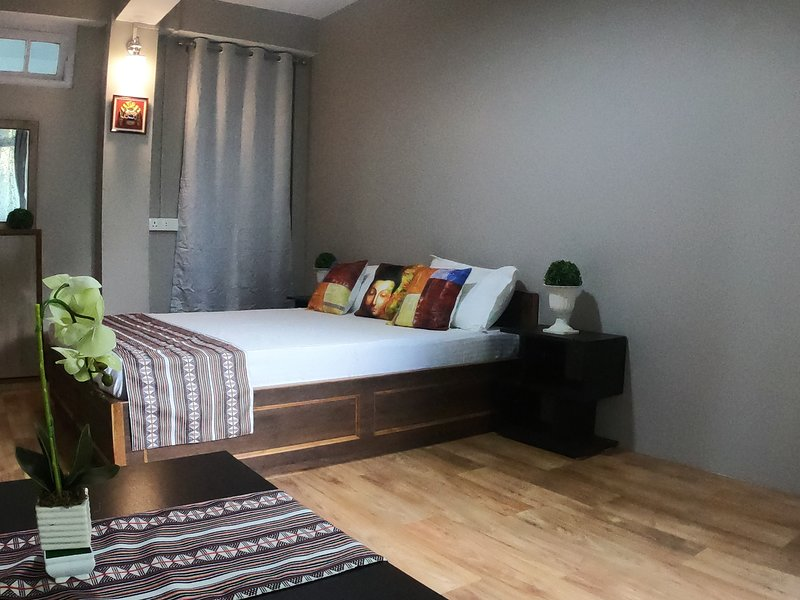 Affordable, Safe, Clean Apartment Vacation Rental with Terrace Garden., holiday rental in Martam
