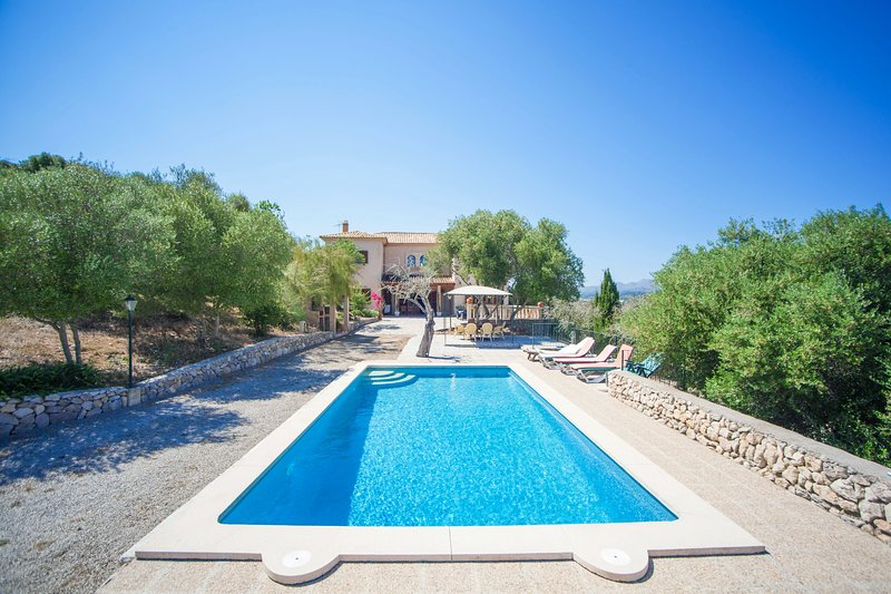 SA CORBAIA NOVA  - Villa for 10 people in Arta, vacation rental in Cala Mesquida