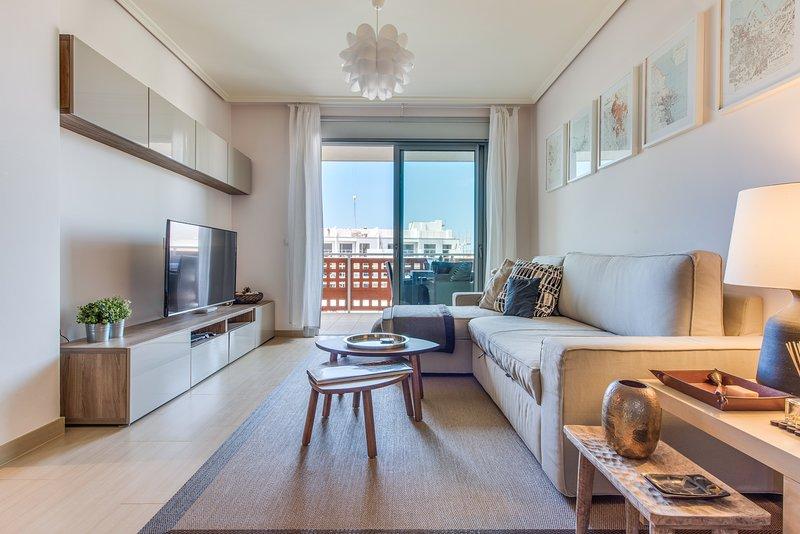 Architect's beach apartment, casa vacanza a El Medano