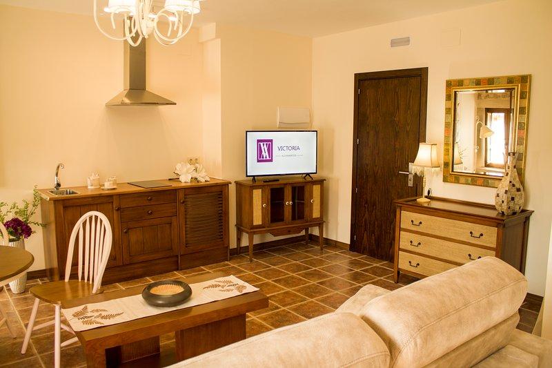 Alojamientos Victoria Altair, vacation rental in Mirabueno