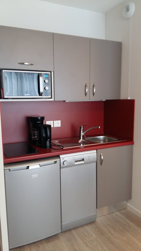 Prepare a delicious meal in the fitted kitchenette.
