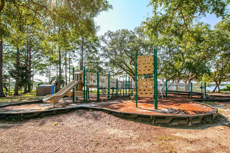 Les enfants vont adorer jouer dans ce parc!