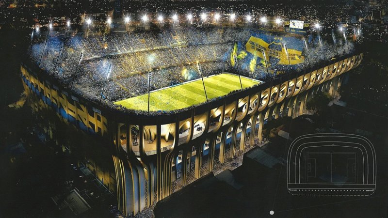 Boca Stadium -  Most famous stadium in the world - Placed in La Boca near the aparment