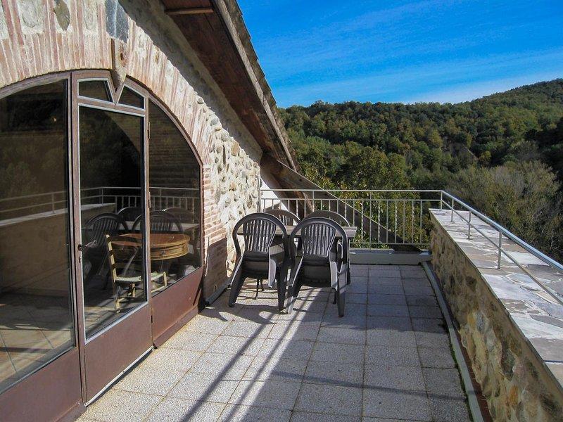 Grande terraço com uma vista magnífica sobre o Canigou