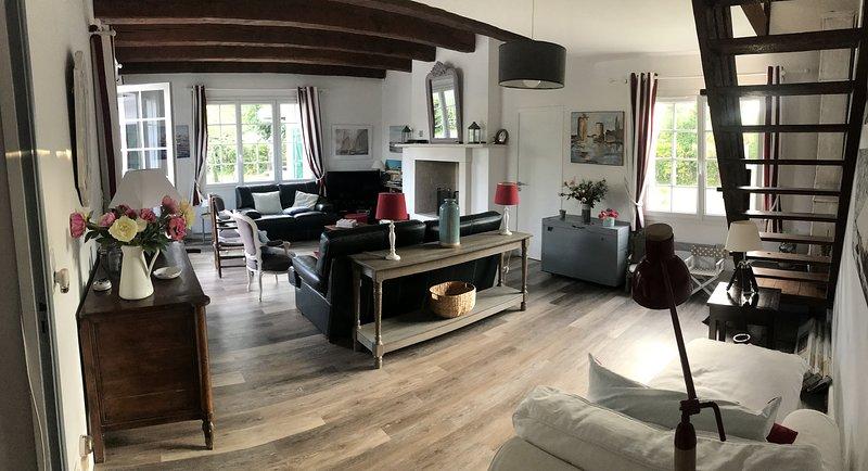 Grande maison pour 2 familles, location de vacances à Charente-Maritime