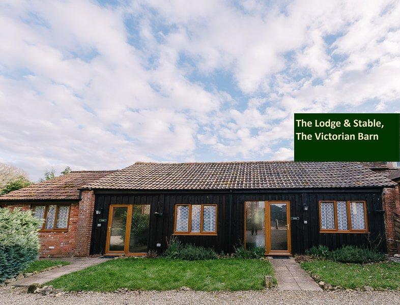 Außenansicht der Lodge