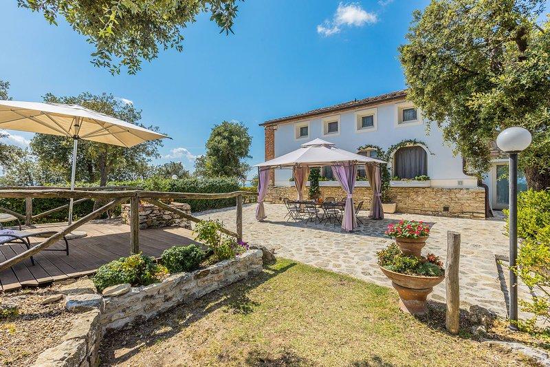 Villa Bastiano, vacation rental in Pieve a Nievole