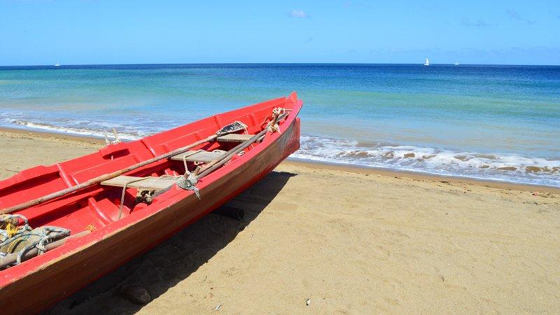 GREAT SEA VIEWS, Private Room, Big Pool, Best Views, Walk to Beach, Food & Wifi, location de vacances à Baie de Marigot