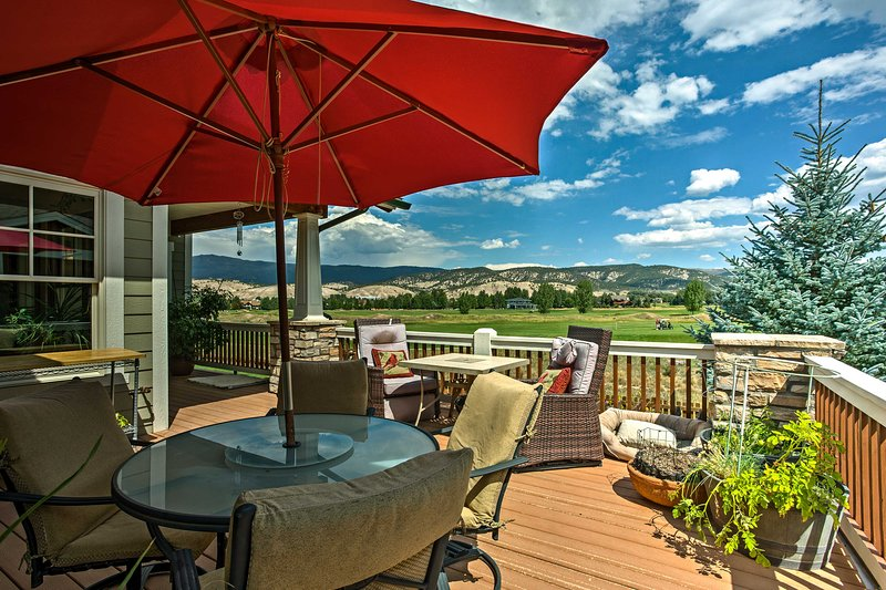 Visit this Eagle vacation rental villa to experience year-round adventure.