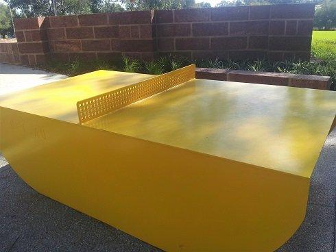 Parque de la página - Mesa de ping pong