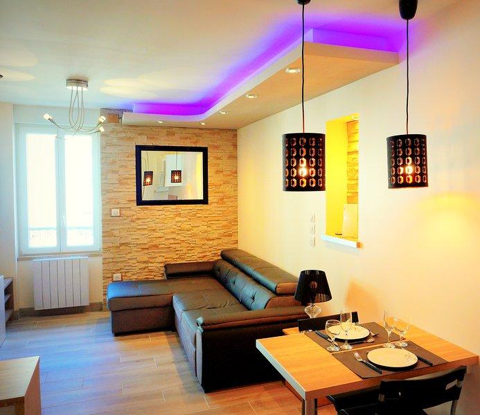 Studio meublé à louer centre-ville à Montluçon, holiday rental in Premilhat