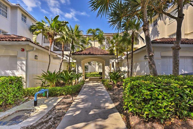 Non vorrai mai lasciare questo delizioso condominio della Florida.