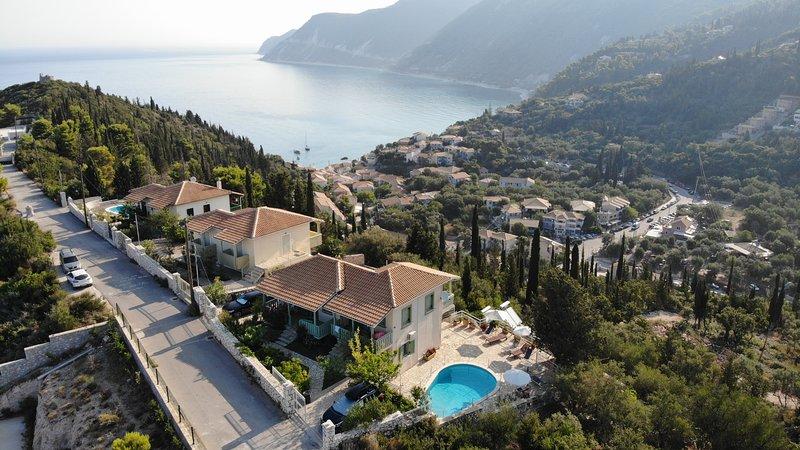 Deep Blue-Harmony, holiday rental in Agios Nikitas