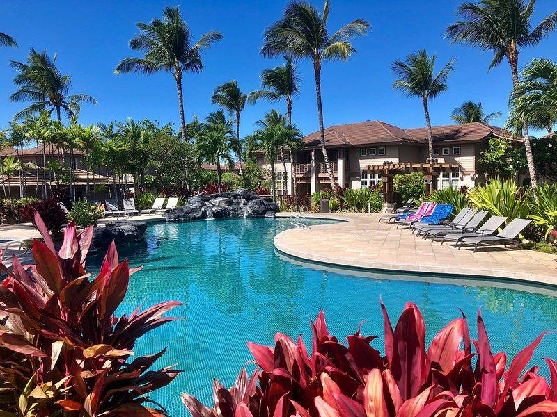Waikoloa Colony Villas ofrece dos magníficas piscinas gratuitas para elegir